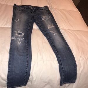 American eagle straight stretch jeans